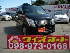 沖縄の中古車 スズキ ワゴンR 車両価格 68万円 リ済込 平成24年 3.8万K ブラック