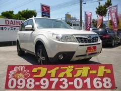 沖縄の中古車 スバル フォレスター 車両価格 119万円 リ済込 平成24年 4.1万K パール