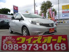 沖縄の中古車 日産 ノート 車両価格 62万円 リ済込 平成24年 1.1万K シルバー