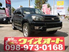 沖縄の中古車 トヨタ ハイラックスサーフ 車両価格 104万円 リ済込 平成15年 11.7万K ブラック