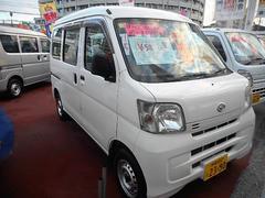 沖縄の中古車 ダイハツ ハイゼットカーゴ 車両価格 53万円 リ済込 平成21年 8.6万K ホワイト