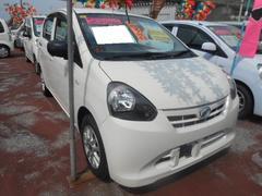 沖縄の中古車 ダイハツ ミライース 車両価格 48万円 リ済込 平成24年 6.7万K ホワイト