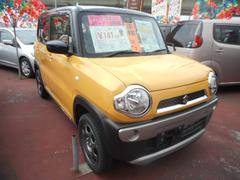 沖縄の中古車 スズキ ハスラー 車両価格 136万円 リ済込 平成29年 5K イエロー