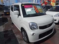 沖縄の中古車 日産 モコ 車両価格 73万円 リ済込 平成24年 7.3万K スノーパールホワイト
