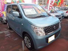 沖縄の中古車 スズキ ワゴンR 車両価格 100万円 リ済込 平成28年 0.7万K フィズブルーパールメタリック