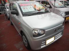 沖縄の中古車 スズキ アルト 車両価格 68万円 リ済込 平成28年 0.9万K シルキーシルバーメタリック