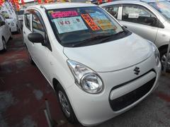沖縄の中古車 スズキ アルト 車両価格 38万円 リ済込 平成23年 6.6万K スペリアホワイト