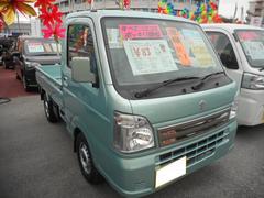 沖縄の中古車 スズキ キャリイトラック 車両価格 78万円 リ済込 平成29年 0.2万K ガーデニングアクアメタリック