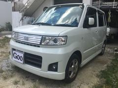 沖縄の中古車 スズキ ワゴンRスティングレー 車両価格 47万円 リ済込 平成20年 10.4万K パールホワイト