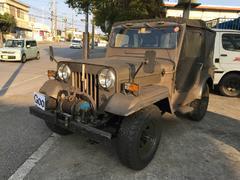 沖縄の中古車 三菱 ジープ 車両価格 ASK リ済込 昭和50年 1.7万K Dグリーン