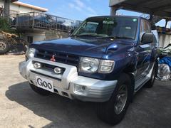 沖縄の中古車 三菱 パジェロ 車両価格 38万円 リ済込 平成9年 16.4万K アオ2グレー