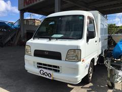 沖縄の中古車 スバル サンバートラック 車両価格 38万円 リ済込 平成16年 19.5万K 白