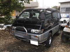 沖縄の中古車 三菱 デリカスターワゴン 車両価格 33万円 リ済込 平成8年 17.0万K ブラック
