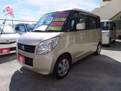 沖縄の中古車 スズキ パレット 車両価格 47万円 リ済込 平成20年 8.6万K クリアベージュメタリック