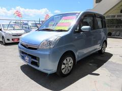 沖縄の中古車 スバル ステラ 車両価格 33万円 リ済込 平成20年 7.4万K アジュールブルーパール