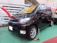 沖縄の中古車 ダイハツ ムーヴ 車両価格 45万円 リ済込 平成20年 9.0万K ブラック