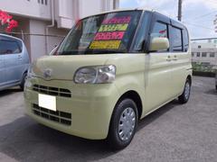 沖縄の中古車 ダイハツ タント 車両価格 47万円 リ済込 平成21年 9.3万K コットンアイボリー