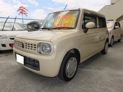 沖縄の中古車 スズキ アルトラパン 車両価格 47万円 リ済込 平成21年 8.2万K ミルクティーベージュメタリック