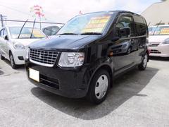 沖縄の中古車 三菱 eKワゴン 車両価格 44万円 リ済込 平成22年 7.5万K ブラックマイカ