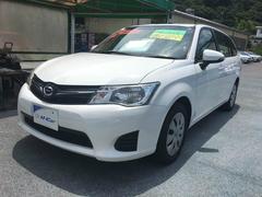 沖縄の中古車 トヨタ カローラフィールダー 車両価格 105万円 リ済込 平成25年 5.5万K ホワイト