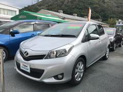 沖縄の中古車 トヨタ ヴィッツ 車両価格 72万円 リ済別 平成23年 4.6万K シルバー