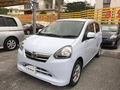 沖縄の中古車 トヨタ ピクシスエポック 車両価格 78.8万円 リ済別 平成25年 2.5万K ライトブルー