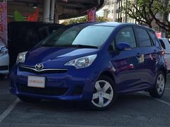 沖縄の中古車 トヨタ ラクティス 車両価格 73万円 リ済別 平成25年 6.4万K ダークブルー