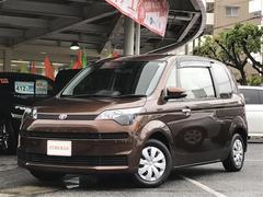 沖縄の中古車 トヨタ スペイド 車両価格 118万円 リ済別 平成27年 2.9万K ブラウン