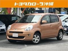 沖縄の中古車 トヨタ パッソ 車両価格 73万円 リ済別 平成23年 4.4万K オレンジ