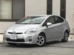 沖縄の中古車 トヨタ プリウス 車両価格 97万円 リ済込 平成23年 6.7万K シルバー