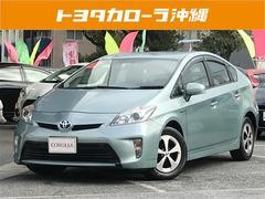 沖縄の中古車 トヨタ プリウス 車両価格 155万円 リ済別 平成25年 4.9万K LグリーンM