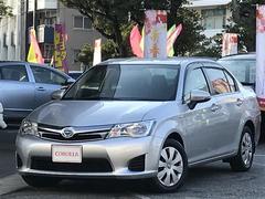 沖縄の中古車 トヨタ カローラアクシオ 車両価格 124万円 リ済別 平成25年 5.5万K シルバー
