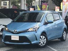 沖縄の中古車 トヨタ ヴィッツ 車両価格 110万円 リ済別 平成26年 0.9万K ブルー