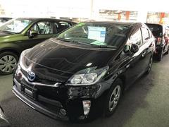 沖縄の中古車 トヨタ プリウスPHV 車両価格 173万円 リ済別 平成24年 2.8万K ブラック