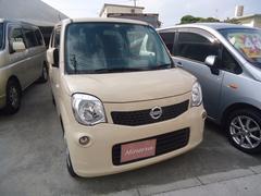 沖縄の中古車 日産 モコ 車両価格 24万円 リ済込 平成24年 13.7万K ライトイエローM