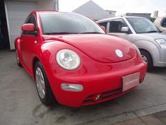 中頭郡中城村 ミネルバ フォルクスワーゲン VW ニュービートル ベースグレード 左ハンドル キーレス レッド 7.0万K 2002年