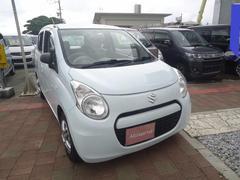 沖縄の中古車 スズキ アルトエコ 車両価格 18万円 リ済込 平成24年 14.6万K ホワイト