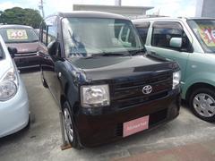 沖縄の中古車 トヨタ ピクシススペース 車両価格 35万円 リ済込 平成24年 12.7万K ブラック