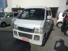 沖縄の中古車 スズキ エブリイワゴン 車両価格 28万円 リ済込 平成16年 13.4万K パールホワイト