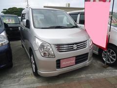 沖縄の中古車 スズキ ワゴンR 車両価格 38万円 リ済込 平成23年 12.5万K シルバー