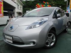 沖縄の中古車 日産 リーフ 車両価格 95万円 リ済別 平成23年 4.6万K シルバーM