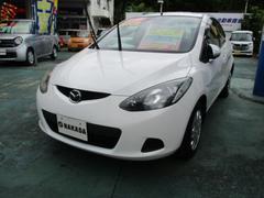 沖縄の中古車 マツダ デミオ 車両価格 33万円 リ済込 平成20年 9.6万K アークティックホワイト