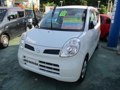 沖縄の中古車 日産 モコ 車両価格 46万円 リ済込 平成22年 9.0万K スノーパールホワイト
