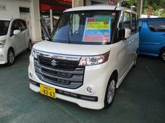 沖縄の中古車 スズキ スペーシアカスタムZ 車両価格 157万円 リ済込 平成29年 0.5万K パールM