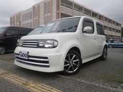 沖縄の中古車 日産 キューブ 車両価格 69万円 リ済込 平成21年 7.2万K ホワイトパール