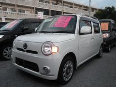 沖縄の中古車 ダイハツ ミラココア 車両価格 58万円 リ済込 平成21年 9.2万K パールホワイト
