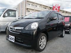沖縄の中古車 ダイハツ ミライース 車両価格 48万円 リ済込 平成23年 6.5万K ブラック
