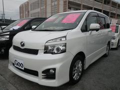沖縄の中古車 トヨタ ヴォクシー 車両価格 119万円 リ済込 平成22年 9.6万K パールホワイト