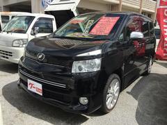 沖縄の中古車 トヨタ ヴォクシー 車両価格 119万円 リ済込 平成21年 8.7万K ブラック