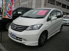 沖縄の中古車 ホンダ フリード 車両価格 98万円 リ済込 平成22年 7.6万K パールホワイト